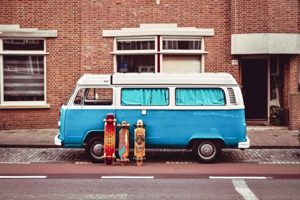 Volkswagencamper Mr. Blue