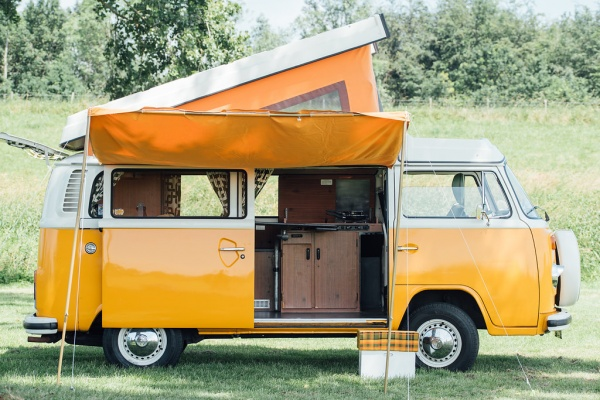 Volkswagencamper Mr. Orange